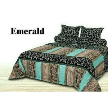 New Bedcover Set Impression King Size Emerald / Spf 968