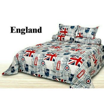 New Bedcover Set Impression England King Size / Spf 971