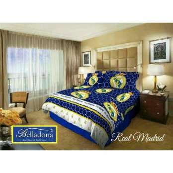 New Sprei Belladona Real Madrid 180X200 / Spf 990