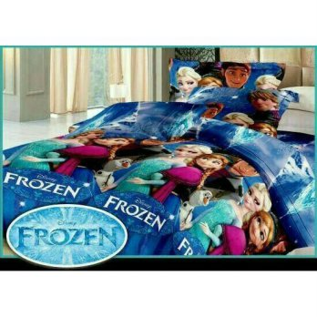New Bed Cover Set Fata Frozen 120X200 / Spf 1021