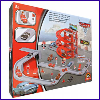 PARKING GARAGE CARS 2 CY180-2 - KADO MAINAN ANAK EDUKASI MURAH