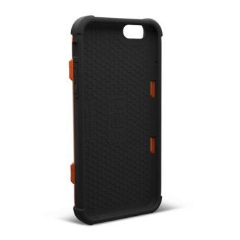 UAG iPhone 6/6S Trooper Card Case -  Rust/Black