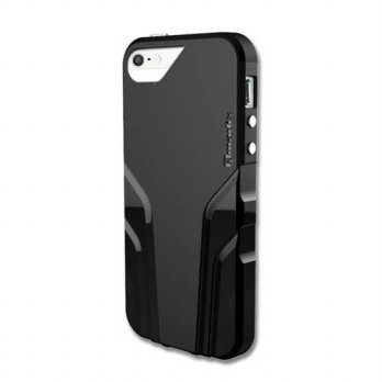 [holiczone] Qmadix Vital Cover for iPhone 5/5s - Retail Packaging - Black/188683