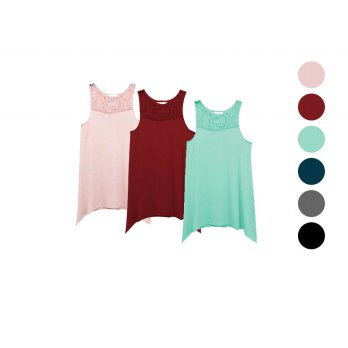 Women Branded Blouse / Tank Top Wanita / Women Tank Top / Banyak Warna
