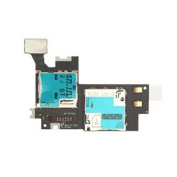 [holiczone] Goliton Micro SIM SD Card Holder / Reader Flex Cable for Samsung Galaxy Note 2/87219