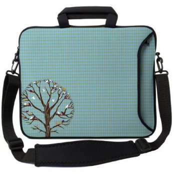 [holiczone] Designer Sleeves 14 Autumn Birds Executive Laptop Bag/94071