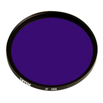 [holiczone] Tiffen 40547 40.5mm 47 Filter (Blue)/96796