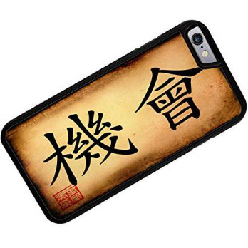 [holiczone] NEONBLOND Case for iPhone 6 Plus Chinese characters, letter Chance - Neonblond/97331