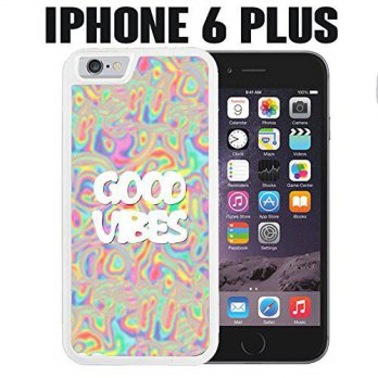 [holiczone] Dunn Moses iPhone Case Good Vibes Trippy Acid Psychedelic for iPhone 6 PLUS Pl/116970