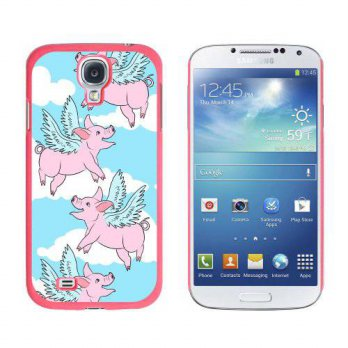 [holiczone] Graphics and More Flying Pig When Pigs Fly Snap-On Hard Protective Case for Sa/120244
