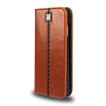 [holiczone] iPhone 6 (4.7) Case, MarBlue Jag Wallet (Removable) Case for iPhone 6 - Brown/130321