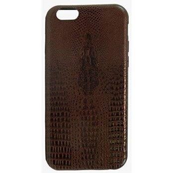 [holiczone] Guardian Accessories iPhone 6 Crocodile Alligator Skin Luxury Slim Fit Cell Ph/136356