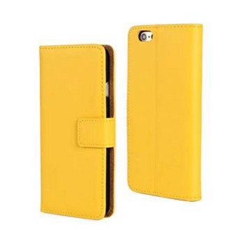 [holiczone] JLTL Yellow Case for Apple iphone 6 Plus (5.5 inch) New Flip Leather Cover Wit/136972