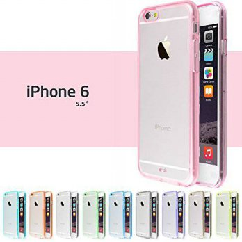 [holiczone] iPhone 6 / 6S Plus Case, 10 Pack Ace Teah Scratch Resistant Case Bumper with T/137575
