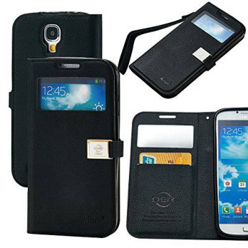 [holiczone] AILUN Galaxy S4 Case,Case for Samsung Galaxy i9500,By Ailun,Wallet Case,with S/138344