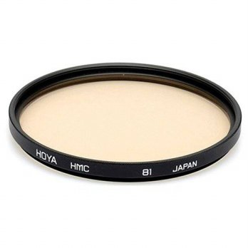 [holiczone] Hoya 58mm 81A Warming Multi Coated Glass Filter/139329