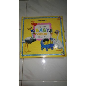 My first baby book album bayi Tony Wolf Gramedia