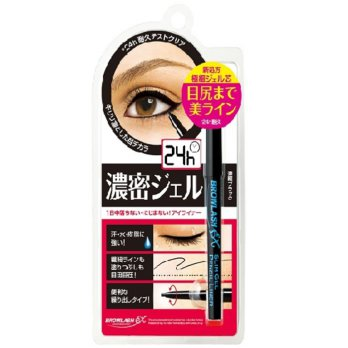 BCL Slim Gel Pencil Liner Browlash EX - Black