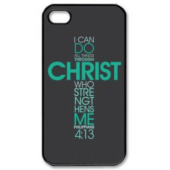 [holiczone] Color.Dream Bible Philippians 4 13 Bible Verse Christ Hard Plastic Back Case C/148573
