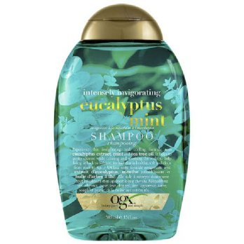 Organix OGX Intensely Invigorating + Eucalyptus Mint Shampoo 385ml Shampo Sampo Perawatan Rambut 385 ml Best Seller