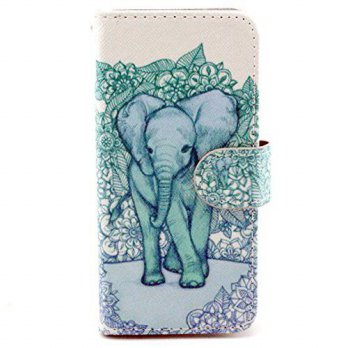[holiczone] Ivy For Iphone 6 Plus 5.5 Inch Case, IVY - Elephant Graphic, Cute Fashion Magn/169812