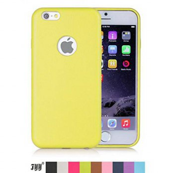 [holiczone] iPhone 6 Case, FYY Classic Leather Case Cover for Apple iPhone 6 Yellow/172269