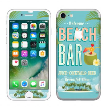 Garskin iPhone 7 - Beach Bar