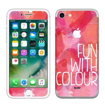 Garskin iPhone 7 - Fun With Colour