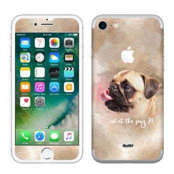 Garskin iPhone 7 - Pug