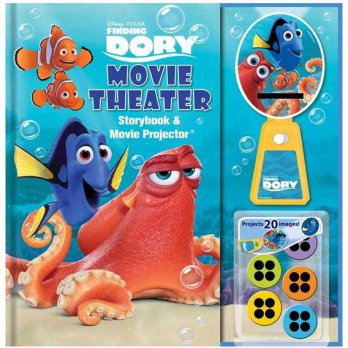 [HelloPandaBooks] Disney Pixar Finding Dory Movie Theater Storybook & Movie Projector (20 Images to