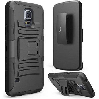 [holiczone] Vakoo Samsung Galaxy S5 Case [H-Belt Series] Heavy Duty ** Screen Protection S/88821