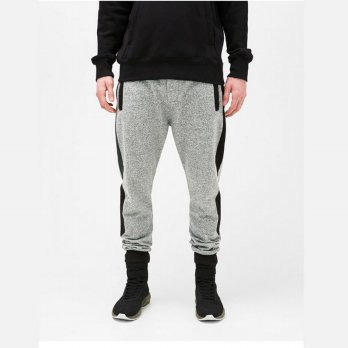 [Limited] Jfashion Basic Jogger Pants with Side List Zipper - Kurtman