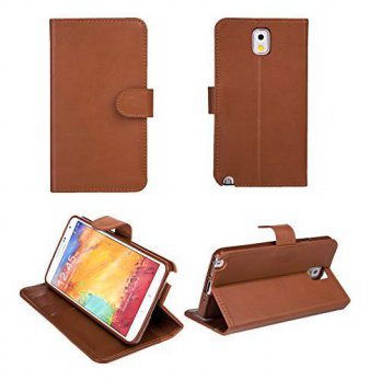 [holiczone] Bear Motion Genuine Lambskin Folio Case for Samsung Galaxy Note 3 - Retail Pac/92161