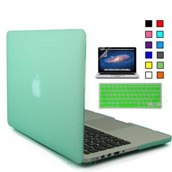[holiczone] IBenzer iBenzer - 3 in 1 Macbook Retina 13 Soft-Skin Plastic Hard Case Cover &/94812
