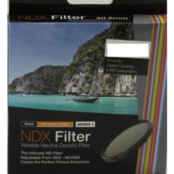 [holiczone] Vivitar 40.5mm Variable ND 2-1000 Neutral Density NDX Filter/95078