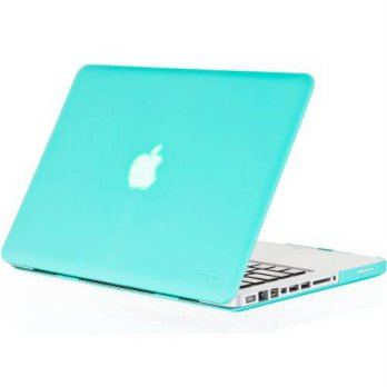 [holiczone] Kuzy - Teal / Turquoise Hot Blue 13inch Rubberized Hard Case Satin Cover for N/95146