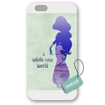 [holiczone] Onelee - Customized Disney Princess Aladdin Jasmine iPhone 6 Plus 5.5 Hard Pla/107130