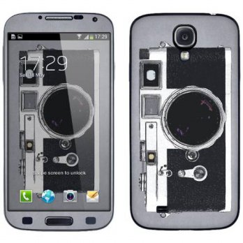 [holiczone] Cellet Vintage Camera Skin for Samsung Galaxy S4/107646