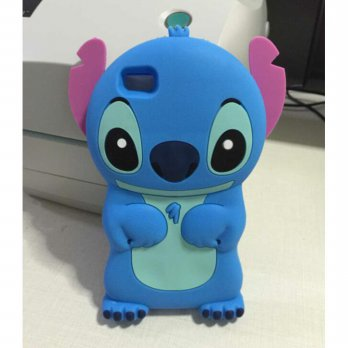 Case Silicone Back Cover Rubber 3D Stitch Disney Xiaomi Redmi 2,3,Note 2, 3,Iphone 5,6,Samsung J1Ace