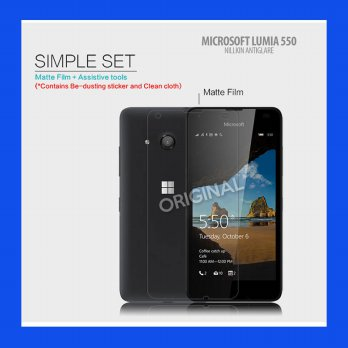 Microsoft Lumia 550 Nillkin Antiglare Screen Guard Antigores