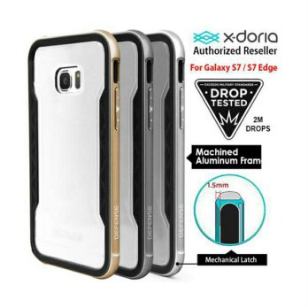 X-Doria - Galaxy S7 Edge - Defense Shield Silver