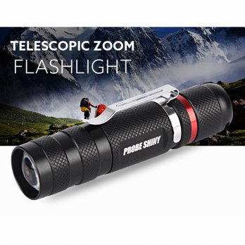 G700 X800 Tactical Zoomable XML T6 LED Military Flashlight Torch Light Lamp