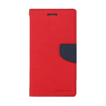 Mercury Fancy Diary Xiaomi Note - Merah/Biru Laut
