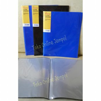 JEMPOL ATK0101PR 20lbr A4 Clear Holder Sheet Pronto map file plastik kertas