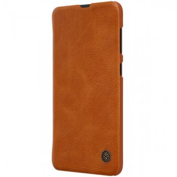 Case Samsung Galaxy A50s / A30s Nillkin Qin Leather Flip - Brown