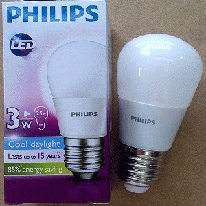 PHILIPS LAMPU BOHLAM LED 3W PUTIH