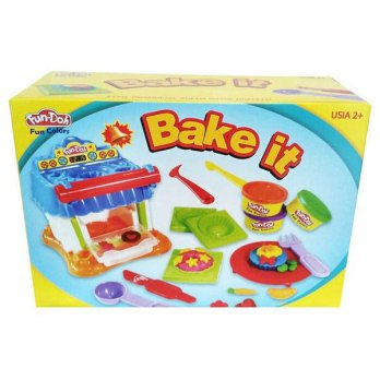 fundoh bake it/fun doh bake it/playdough/play doh/dough murah/doh murah