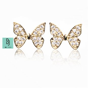 BE.JUU Anting Butterfly Korean Jewelry