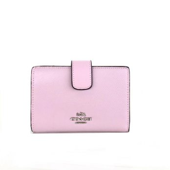 Coach Medium Corner Zip Wallet - Lavender