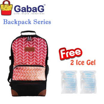 GabaG Cooler Bag Backpack Series Radja Ramada - Free 2 Ice Gel